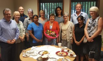 Joan Roberts celebrates 15 years in mercy